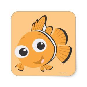 Nemo 1 square sticker