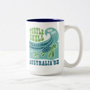 Nemo and Crush - Australia '03 Two-Tone Coffee Mug