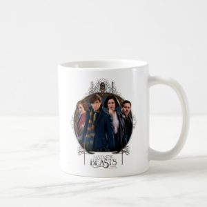 NEWT SCAMANDER™ and Company Art Nouveau Frame Coffee Mug