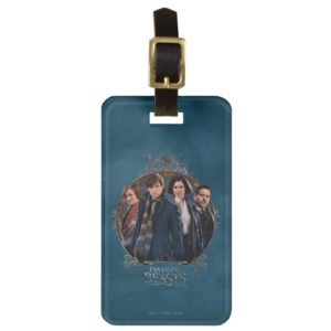 NEWT SCAMANDER™ and Company Art Nouveau Frame Luggage Tag