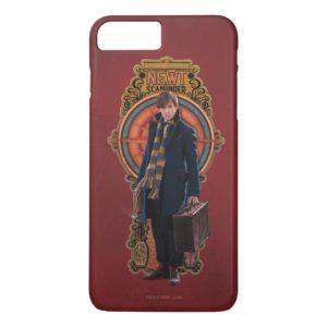 NEWT SCAMANDER™ Standing Art Nouveau Panel Case-Mate iPhone Case