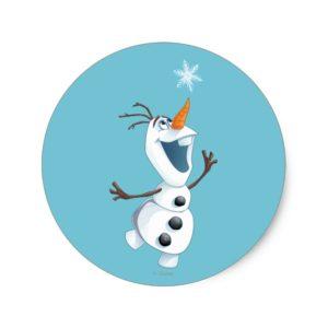 Olaf | Blizzard Buddy Classic Round Sticker