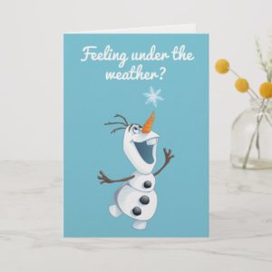 Olaf | Blizzard Buddy - Get Well Card
