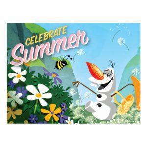 Olaf | Celebrate Summer Postcard