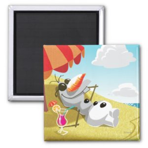Olaf | Chillin' in the Sunshine Magnet