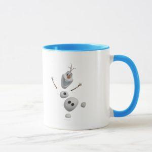Olaf   In Pieces Mug