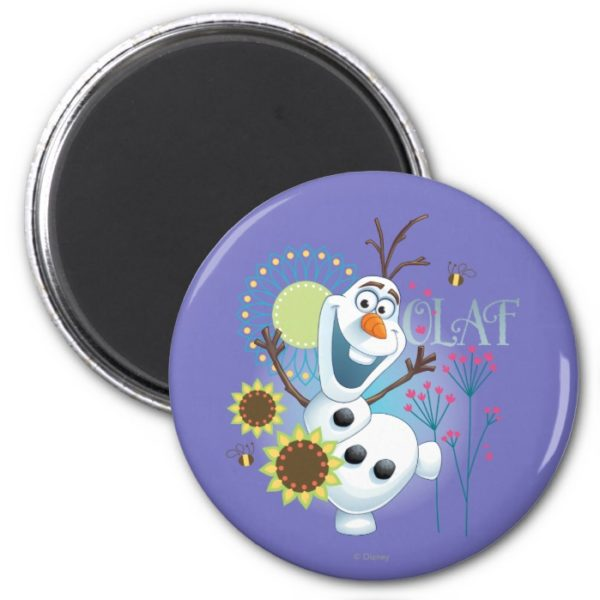 Olaf   It's a Perfect Day Magnet