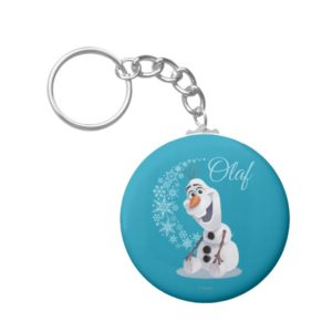 Olaf | Wave of Snowflakes Keychain