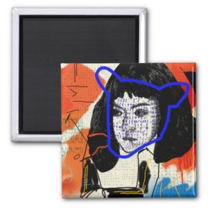 Orphan Black   Abstract MK Clone - Project Leda Magnet