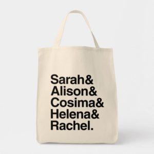 Orphan Black | Ampersand Design Tote Bag