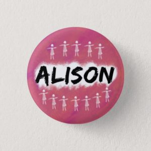 Orphan Black Button / Badge - Alison