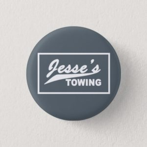 Orphan Black Button Jesse's Towing