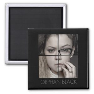Orphan Black   Clone Collage Magnet