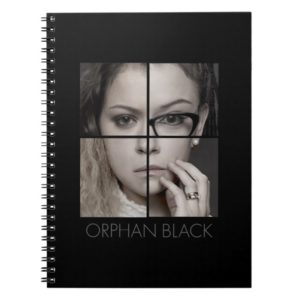 Orphan Black | Clone Collage Notebook