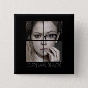 Orphan Black   Clone Collage Pinback Button