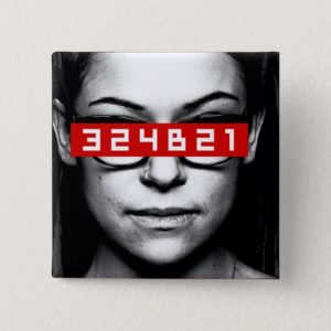 Orphan Black | Cosima - Tag Number Pinback Button
