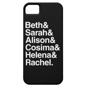 Orphan Black | Helvetica Design Case-Mate iPhone Case