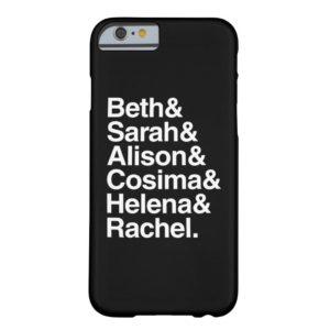 Orphan Black | Helvetica Design Case-Mate iPhone Case