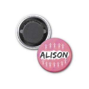 Orphan Black magnet - Alison