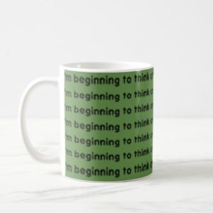 Orphan black quote think crazy is genetic coffee mug