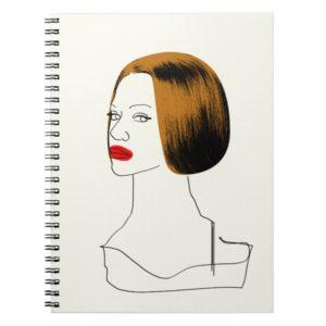 Orphan Black | Rachel - Classy Clone Sketch Notebook