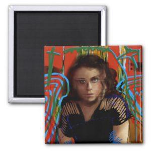 Orphan Black   Tatiana Maslany - Character Collage Magnet