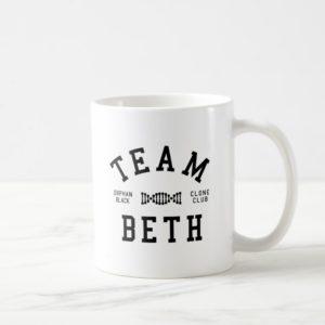 Orphan Black Team Beth Coffee Mug