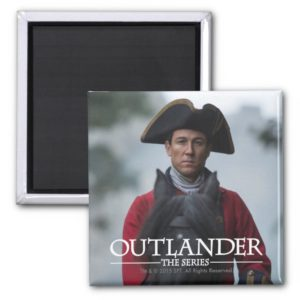 Outlander | Black Jack Randall Photograph Magnet