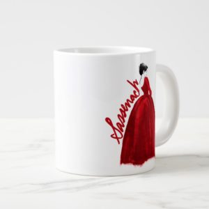 Outlander   Claire In A Red Dress Sassenach Giant Coffee Mug