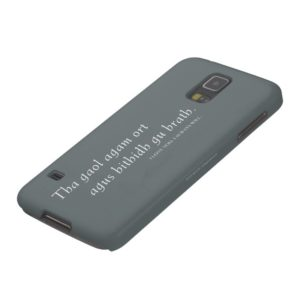 Outlander   I love you. I always will. Galaxy S5 Case