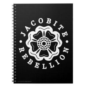 Outlander   Jacobite Rebellion Emblem Notebook