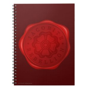 Outlander | Jacobite Rebellion Wax Seal Notebook