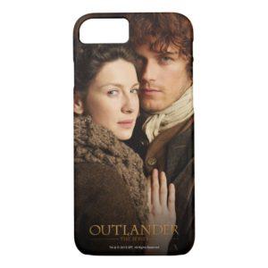 Outlander   Jamie & Claire Embrace Photograph Case-Mate iPhone Case