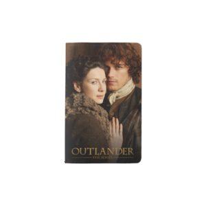 Outlander   Jamie & Claire Embrace Photograph Pocket Moleskine Notebook