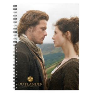 Outlander | Jamie & Claire Face To Face Notebook