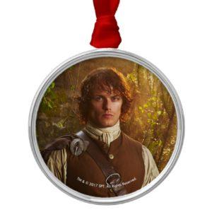 Outlander | Jamie Fraser - In Woods Metal Ornament