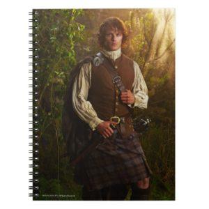 Outlander   Jamie Fraser - In Woods Notebook