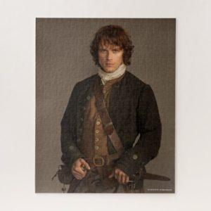 Outlander | Jamie Fraser - Kilt Portrait Jigsaw Puzzle