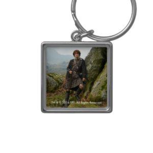 Outlander | Jamie Fraser - Leaning On Rock Keychain
