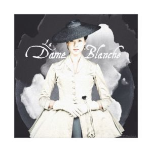 Outlander | Outlander La Dame Blanche Canvas Print