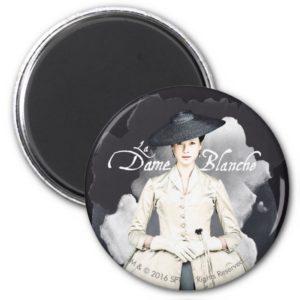 Outlander   Outlander La Dame Blanche Magnet