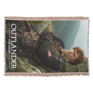 Outlander | Reclining Jamie Fraser Photograph Throw
