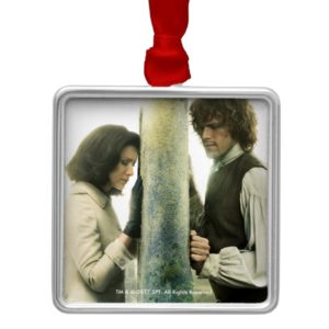 Outlander Season 3 | Claire and Jamie Metal Ornament