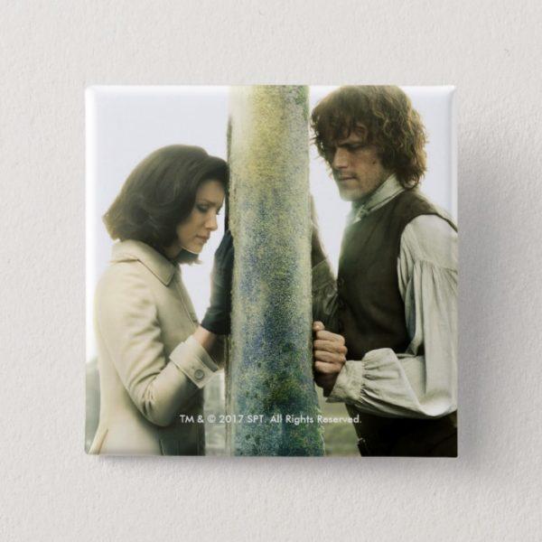 Outlander Season 3 | Claire and Jamie Pinback Button
