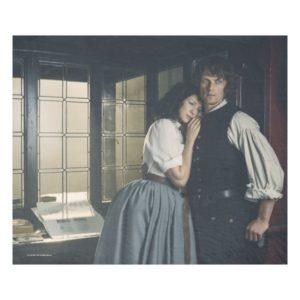 Outlander Season 3 | Jamie and Claire Affection Fleece Blanket