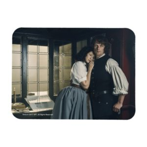 Outlander Season 3 | Jamie and Claire Affection Magnet