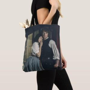 Outlander Season 3   Jamie and Claire Affection Tote Bag