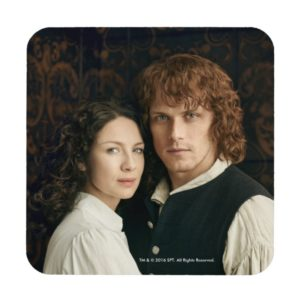 Outlander Season 3 | Jamie and Claire Photograph Drink Coaster