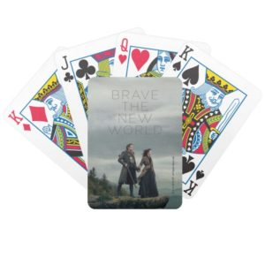 Outlander Season 4 | Brave the New World Bicycle Playing Cards