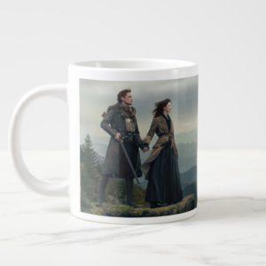 Outlander Season 4 | Brave the New World Giant Coffee Mug